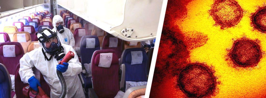 Медики рассказали, как в самолете не заразиться коронавирусом