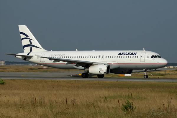 лайнер Airbus A-321 авиакомпании Aegean Airlines  Aegean Airlines
