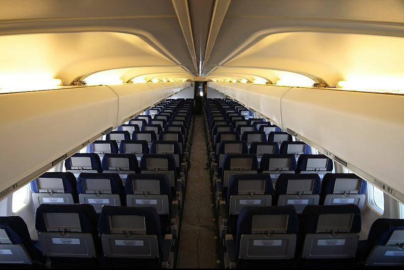фото 241 авиакомпании Air Mauritius (В салоне лайнера Airbus A-330 авиакомпании) .
