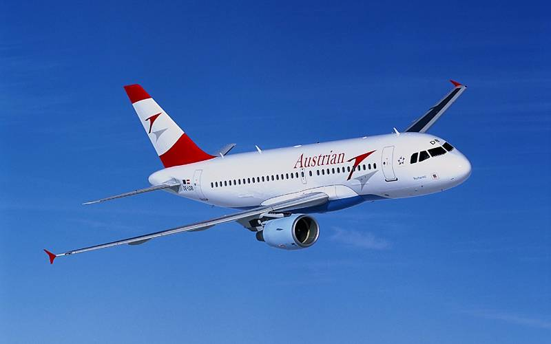 Austrian Airlines A319  Austrian Airlines