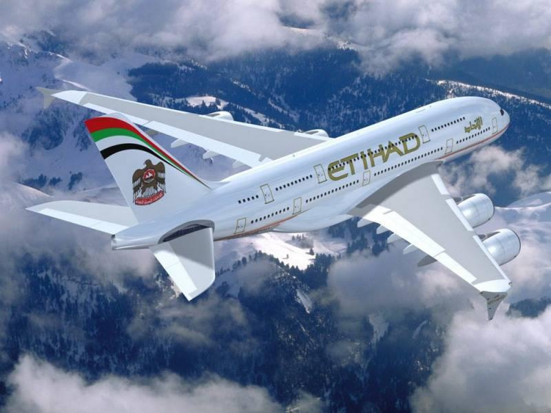 Картинки по запросу большой пассажирский самолёт Этихад