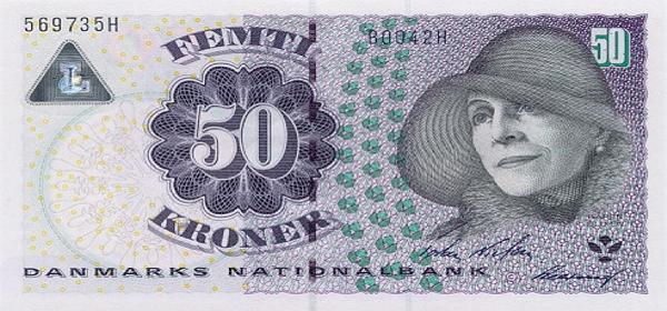 Курс датской кроны к доллару