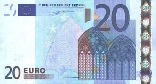 20 евро