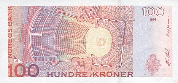 Курс норвежской кроны к доллару