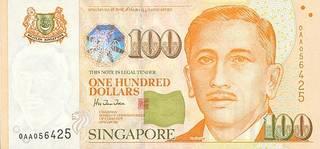 100 Singapore dollars