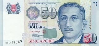 50 Singapore dollars