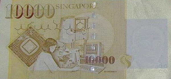 10 000 Singapore Dollars The Flip Side