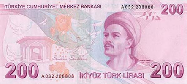 Турецкая Лира - курс к рублю, доллару и евро. Конвертер турецкой ...
