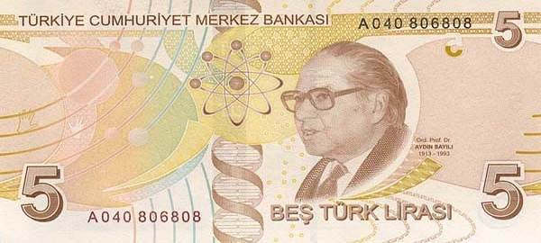 Курс турецкой валюты к рублю