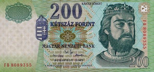 Курс венгерского форинта к доллару