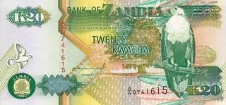 20 замбийских квач