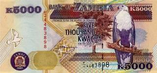 5000 замбийских квач