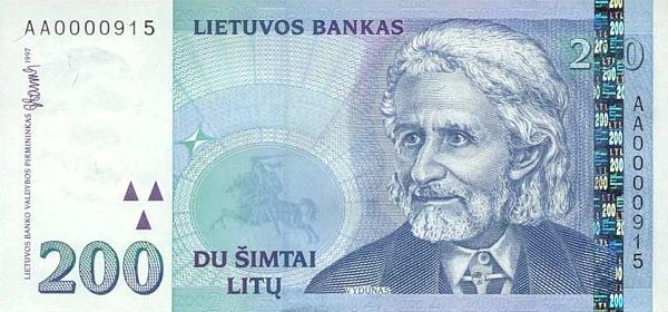 Курс литовского лита к доллару