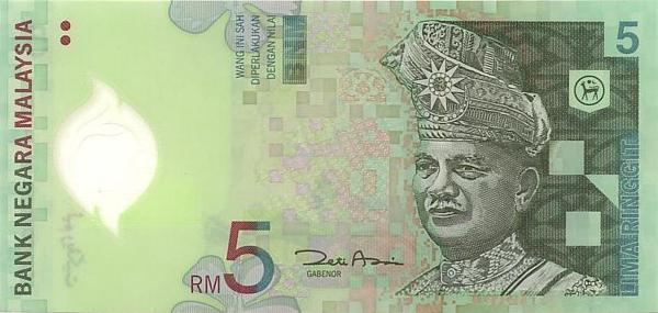 Курс доллара к малазийскому