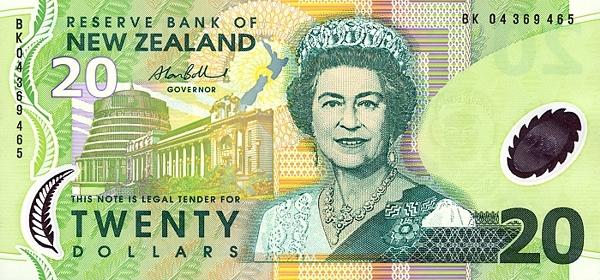 Курс новозеландского доллара к рублю