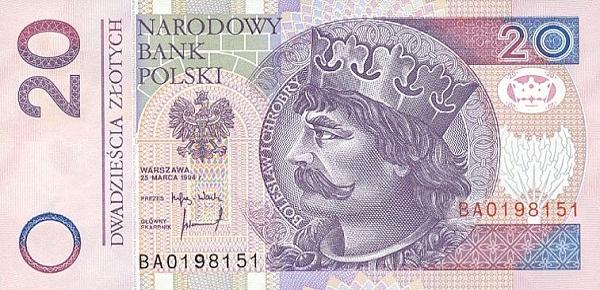 1 злотый к доллару в польше 2 евро 2001
