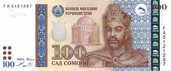 Таджикистан 100 сомони снг скачать книгу легенды на западноевропейских монетах потин