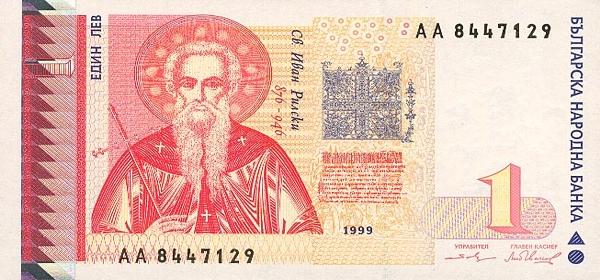 Курс валют в болгарии сегодня