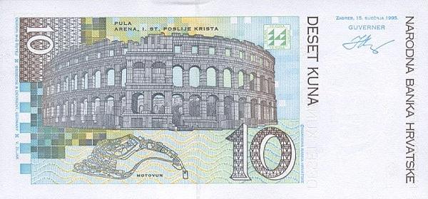 Курс хорватской куны к евро