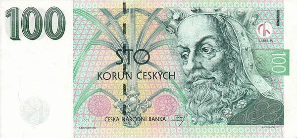 чешская крона фото нового образца