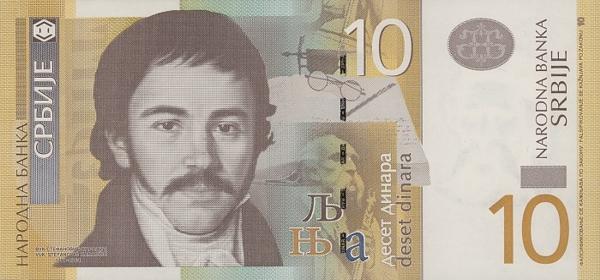 Курс валют динар сербский