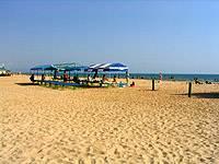 Пляж.  Пансионат Одиссея, Анапа.