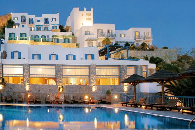 Остров миконос греция отели 5 звезд