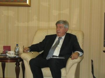 Слобадан Бацкович, Чрезвычайный и полномочный посол Черногории в России на встрече с журналистами,  Черногория