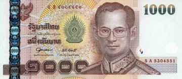 Курс валют 1 бат