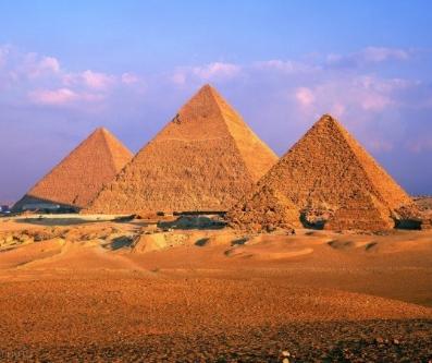 """Оригинал - Схема вышивки  """"Пирамиды в Гизе """" - Схемы вышивки - варвара - Авторы - Портал  """"Вышивка крестом """" ."""