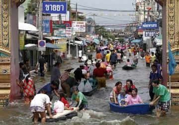 Тайские власти: наводнение туристам не помешает