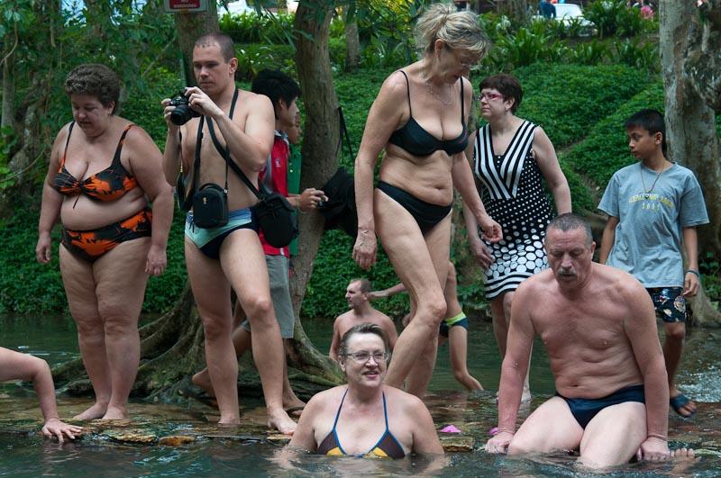 фото туристы голые
