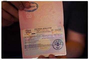 Российские туристы смогут получать визу в Индию в электронном виде