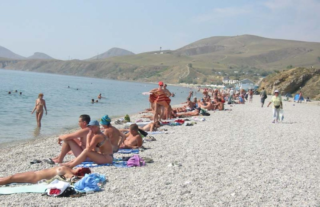 Нудистские пляжи Чёрного моря