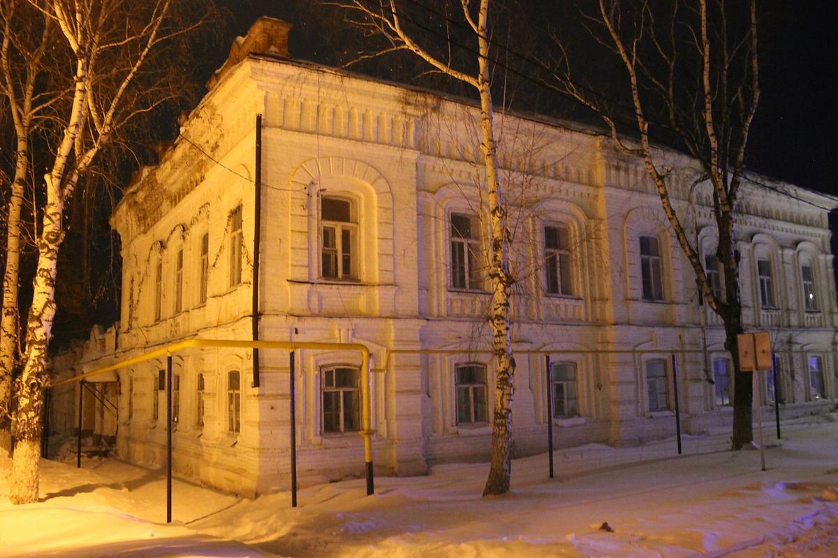 дом купцов мараевых старые фото том