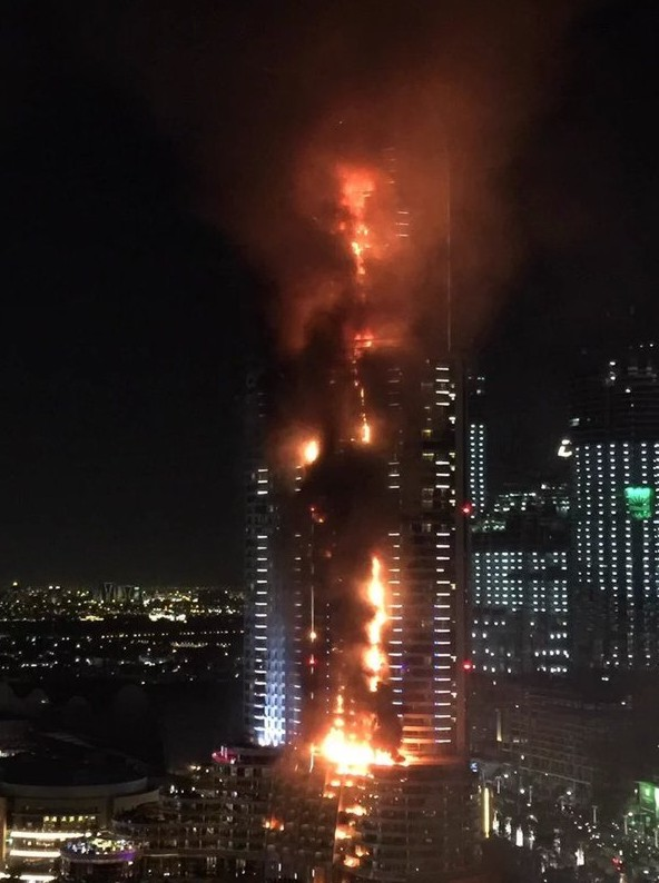 ваш пожар в отеле дубаи Продаже