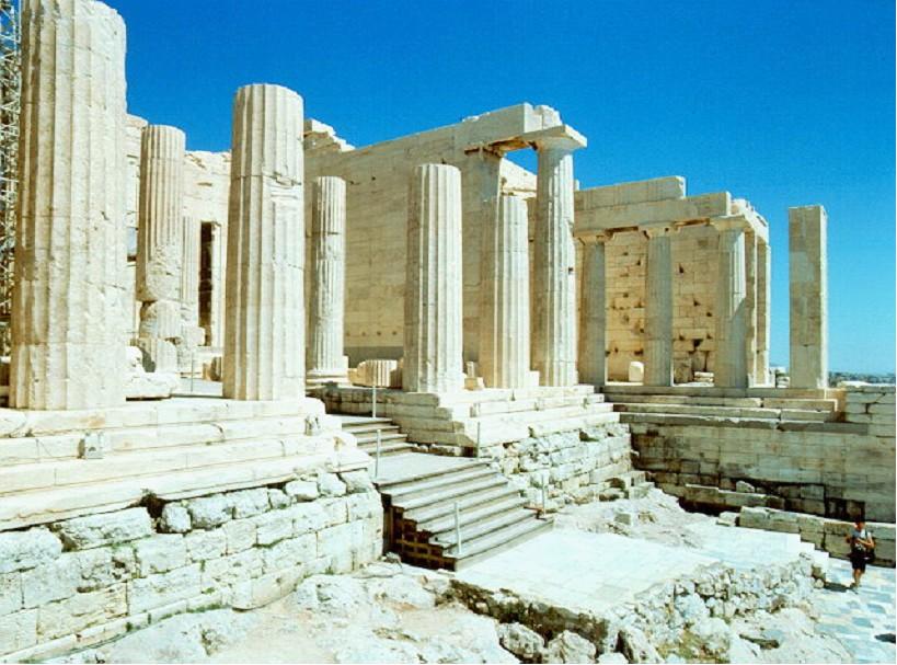 пропилеи афинского акрополя картинки привлекали