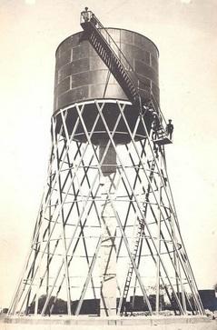 Гиперболоидная водонапорная башня лобня