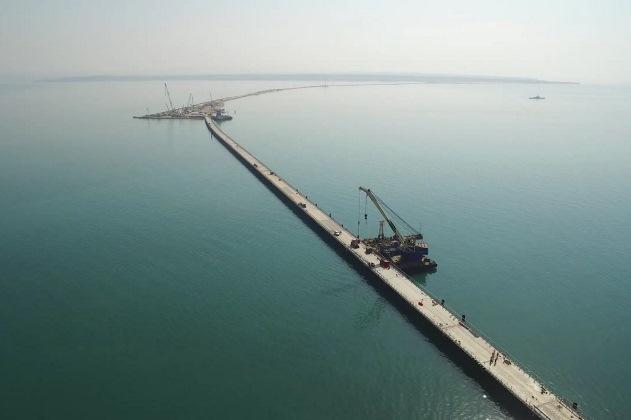 фото мост в крым