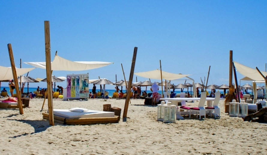 паралия фото пляж