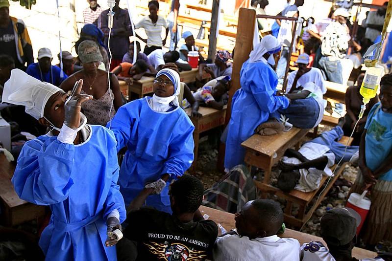Ростуризм предупредил россиян овспышке холеры наГаити