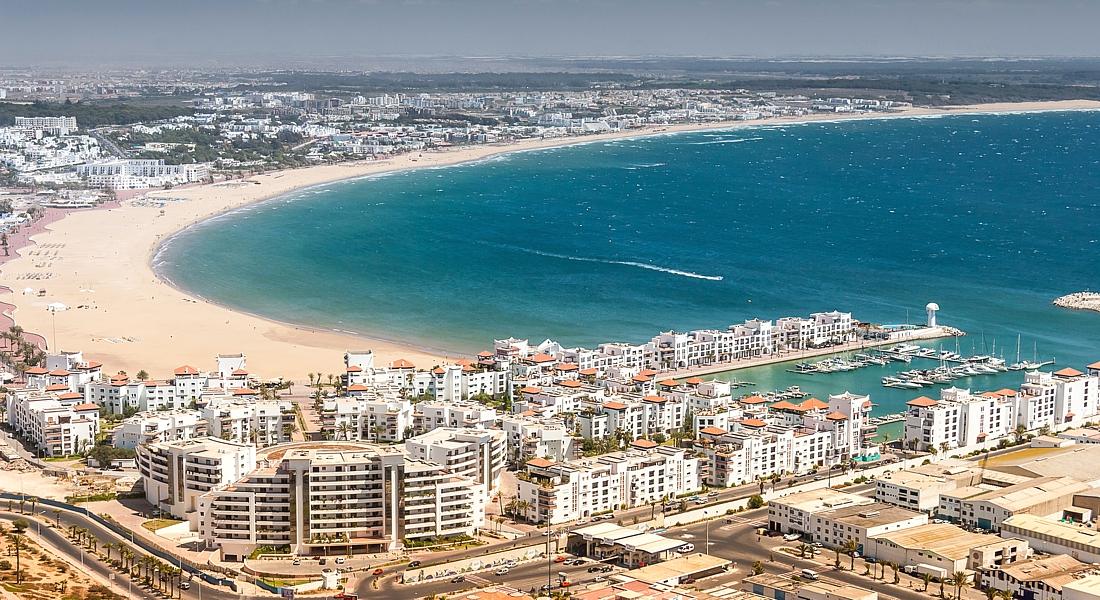 картинка фотография курорта Агадир в Марокко