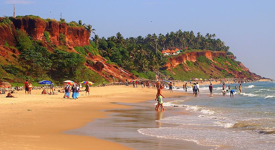 картинка фотография курорта Керала в Индии