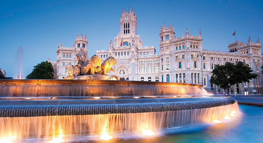 Испанию а именно мадрид столица испании привлекает туристов множеством баров нож для бумаги подарочный