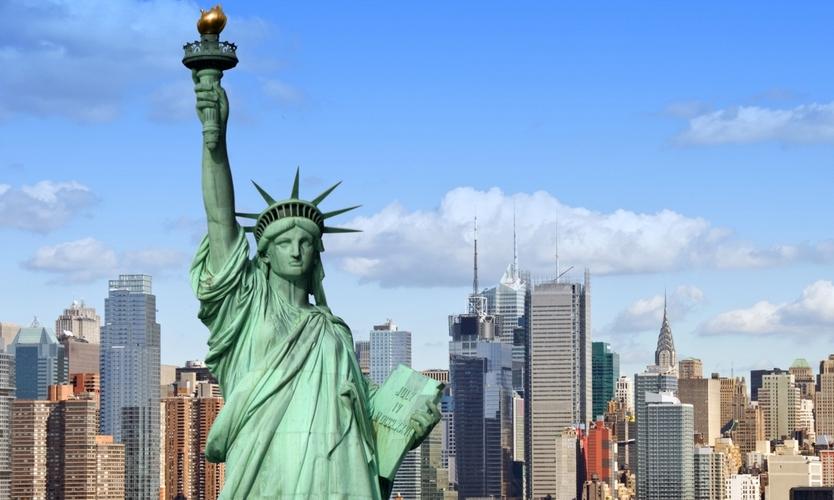 Нью-Йорк в этом 2016г посетило рекордное число туристов