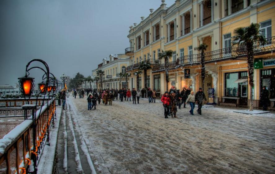 Крым посетили неменее 5,5 млн. туристов