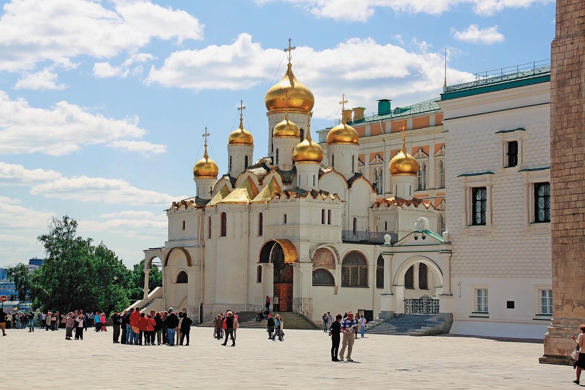 все картинки благовещенского собора в кремле снасть всегда служит