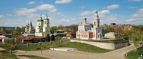 Введенский Владычный монастырь в Серпухове