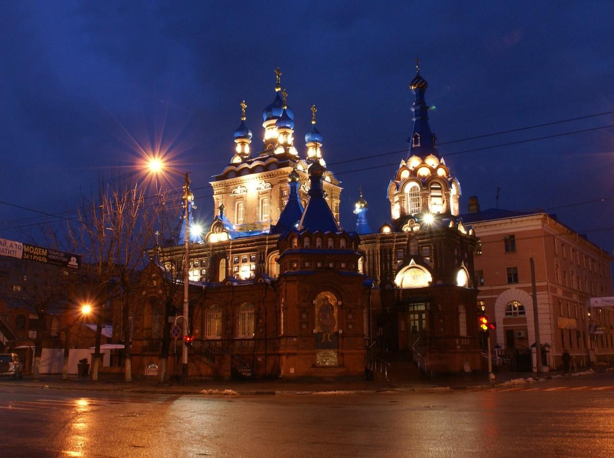 Фото Георгиевская церковь Краснодар, Россия Турпром