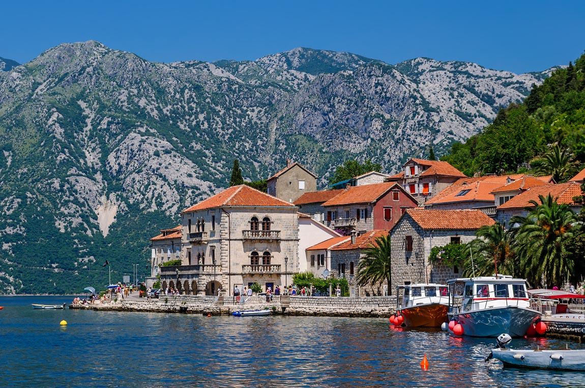 Фото Залив Бока-Которской бухты | Тиват, Черногория | Турпром